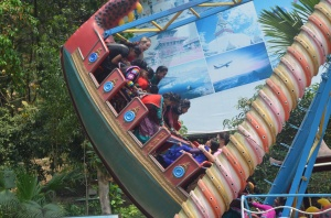 Visiting an Amusement Park